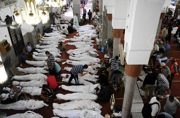 Korban Pembantaian Tentara Mesir